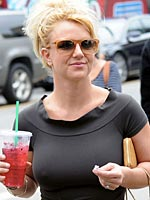 Britney Spears out and about in beverly hills