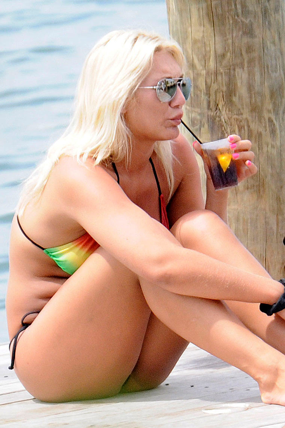 Brooke hogan big tits