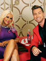 Christina Aguilera press conference in los angeles
