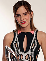 Emma Watson at peoples choice awards in la