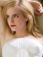 Emma Watson looking sexy and hot in magazine