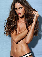 Izabel Goulart sexy and busty lingerie photoshoot