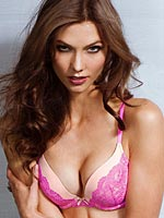 Karlie Kloss is lingerie perfection babe
