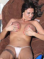 Katie Price topless big nude boobs