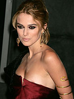 Keira Knightley revealing wet suckable nipples