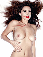 Kelly Brook sexy and nude posing