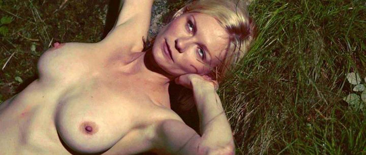 фото голая кирстен данст