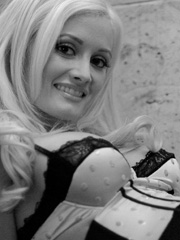 Holly Madison sexy lingerie and costumes