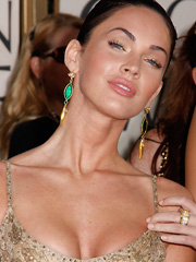 Megan Fox as golden globes are winners