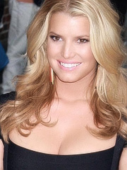 Jessica Simpson redemption cleavage