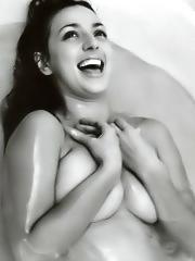 Ambra Angiolini sexy and nude shots