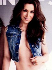 Alyssa Milano braless hotness for maxim