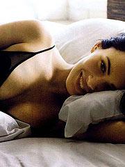 Megan Fox amazing body in sexy black underwear
