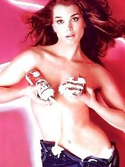 Brooke Shields lingerie and naked shots
