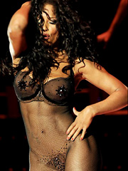 Melanie doutey nude boobs and bush in el lobo movie - 1 6
