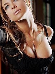 Carmen Electra posing and nude scenes