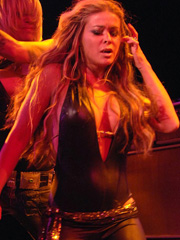 Carmen Electra does her stripper thing