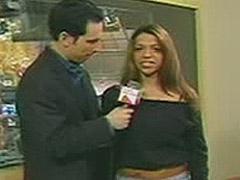 Vida Guerra great big breasts in black lingerie