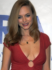 Heather Graham joins saggy boobie club