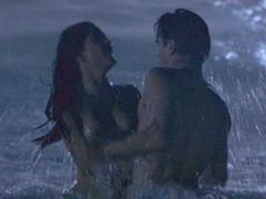 Salma Hayek nude sex scene in ocean