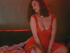 Anna Galiena naughty topless teasing