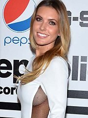 Audrina Patridge shows some sideboob peek
