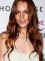 Lindsay Lohan sevin nyne tanning product