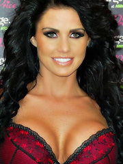 Katie Price Jordan new lingerie launch