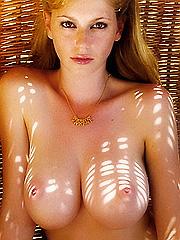 Diora Baird nude posing and topless sex