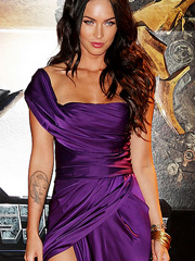 Megan Fox leggy and looking scorching hot