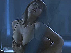 Monica Bellucci nice tits in sex scenes on chair