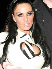 Katie Price is a beat up school slut