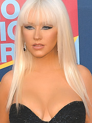 Christina Aguilera best breasts award