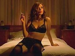 Alexandra Pirici sex in black lingerie