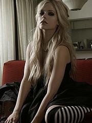 Avril Lavigne in nasty sexy lingerie