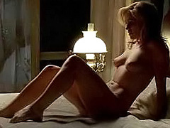 Anna Paquin have naked sex on the bed