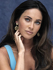 Megan Fox adorable face and exposed topless