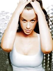 Alanis Morissette topless and sexy