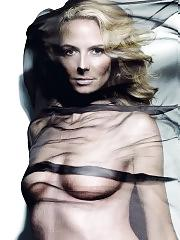 Heidi Klum nude and topless posing