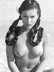 Alyssa Milano showing wonderful exposed breasts