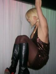 Paris Hilton sexy posing in public