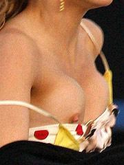 AnnaLynne McCord public nipple slip by paparazzi