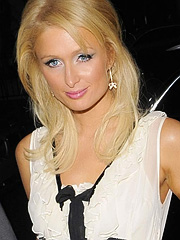 Paris Hilton having partied til 3am