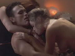 Denise Richards in threesome sex action