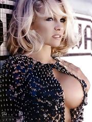 Pamela Anderson oops shots in white