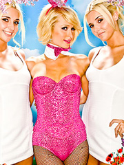 Paris Hilton classic playboy bunny suit