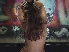 Kelly Brook tied up having nude sex