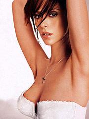 Jennifer Love Hewitt posing in sexy lingerie