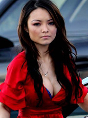 Tila Tequila hot cleavage and upskirt