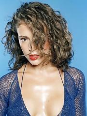 Alyssa Milano big nasty cleavage